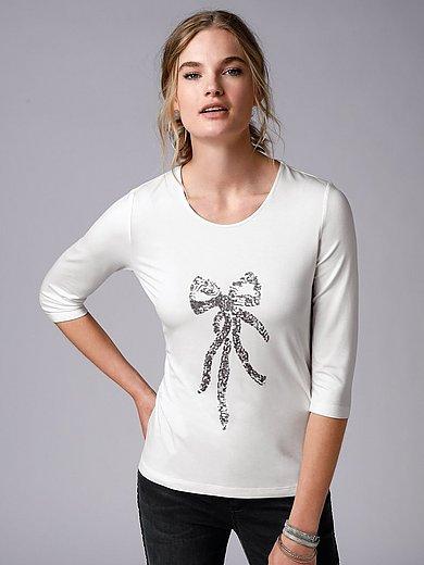 MYBC - Rundhals-Shirt mit 3/4-Arm