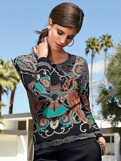 Laura Biagiotti Donna - Shirt met ronde hals en lange mouwen
