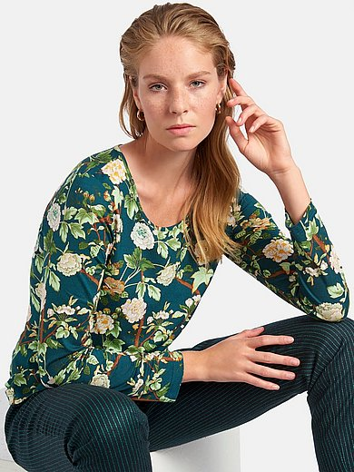 St. Emile - Round neck top with long sleeves