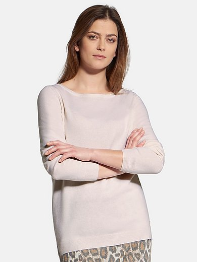 Basler - Round neck jumper in 100% cashmere