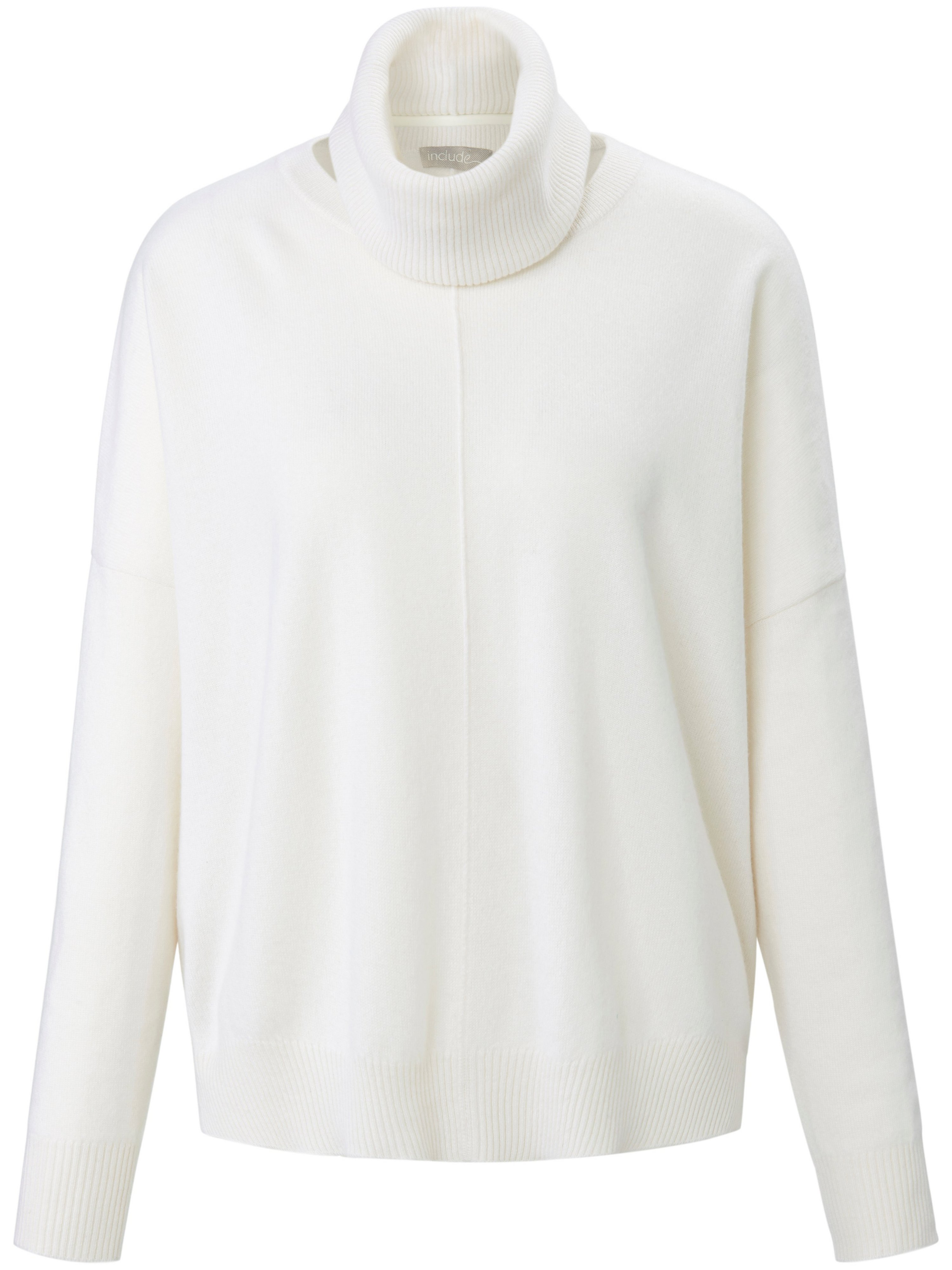 Le pull 100% cachemire  include blanc taille 38
