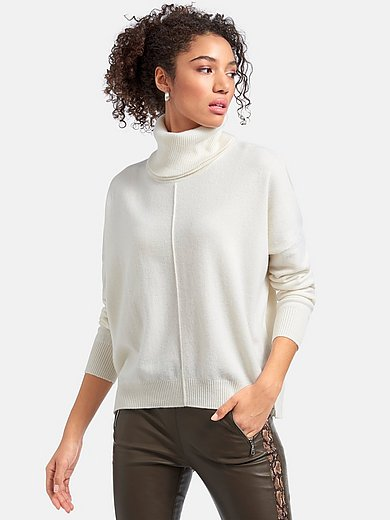 include - Round neck jumper in 100% premium cashmere