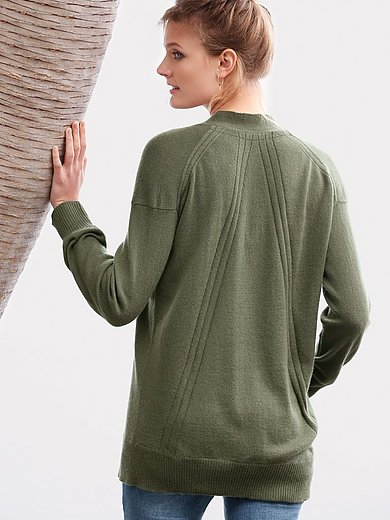 include - V-neck pullover in Pure cashmere in premium qualit