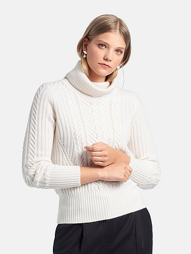 Fadenmeister Berlin - Le pull col roulé 100% laine vierge