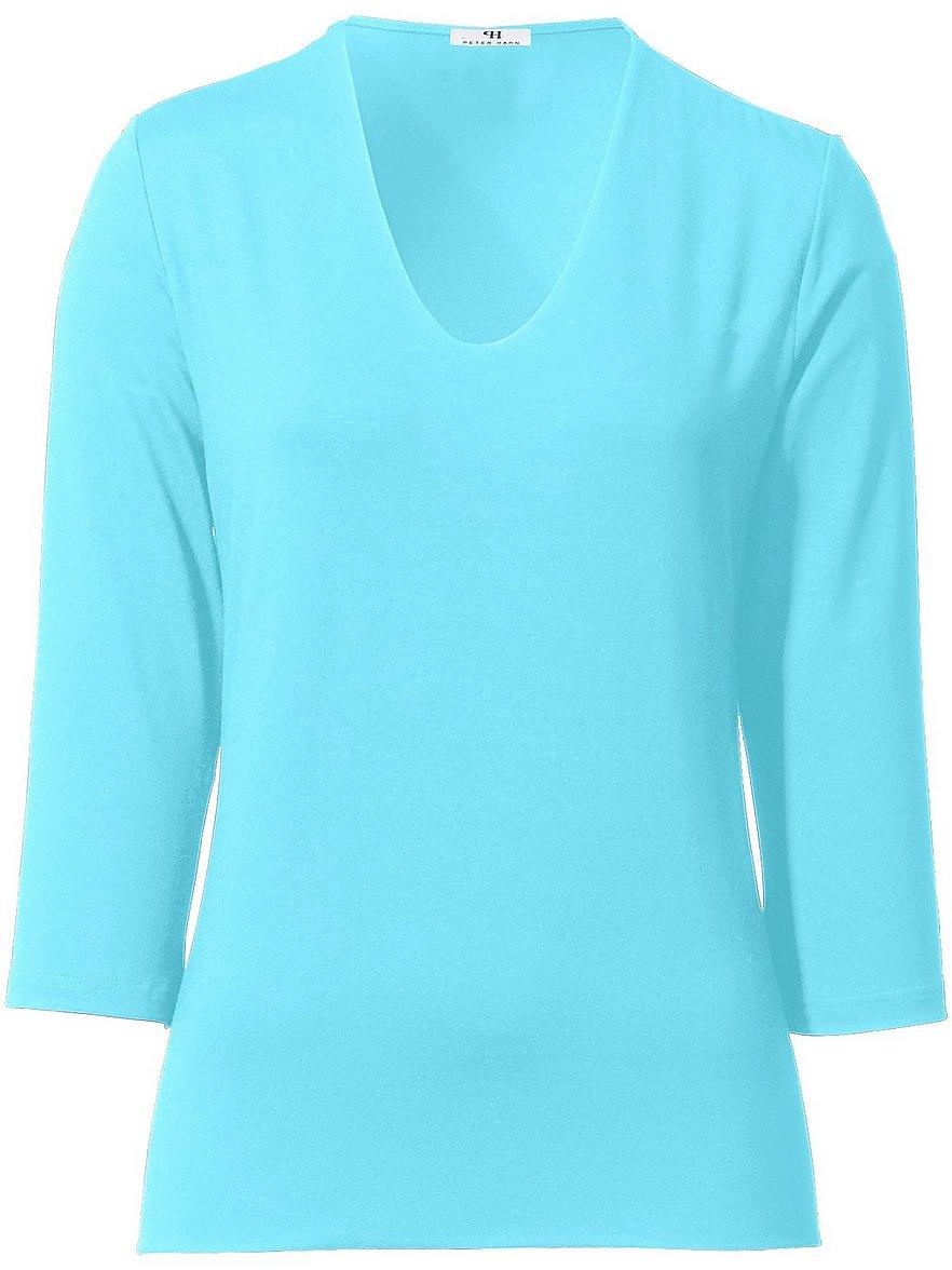 V-Shirt 3/4-Arm Peter Hahn türkis Größe: 48 | Bekleidung > Shirts > V-Shirts | Peter Hahn