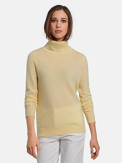 Peter Hahn Cashmere - Rollkragen-Pullover aus 100% Premium-Kaschmir