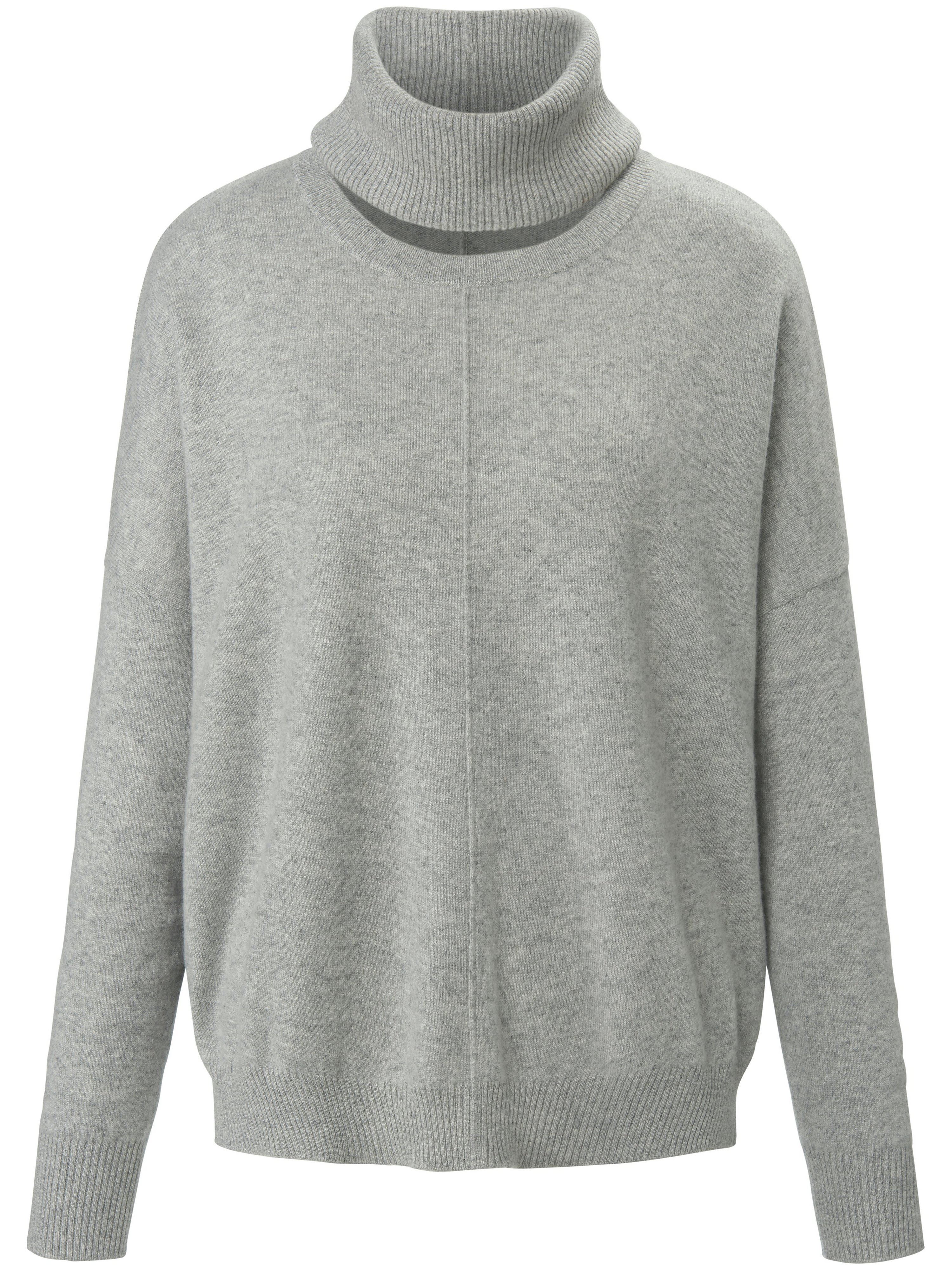 Le pull 100% cachemire  include gris taille 48