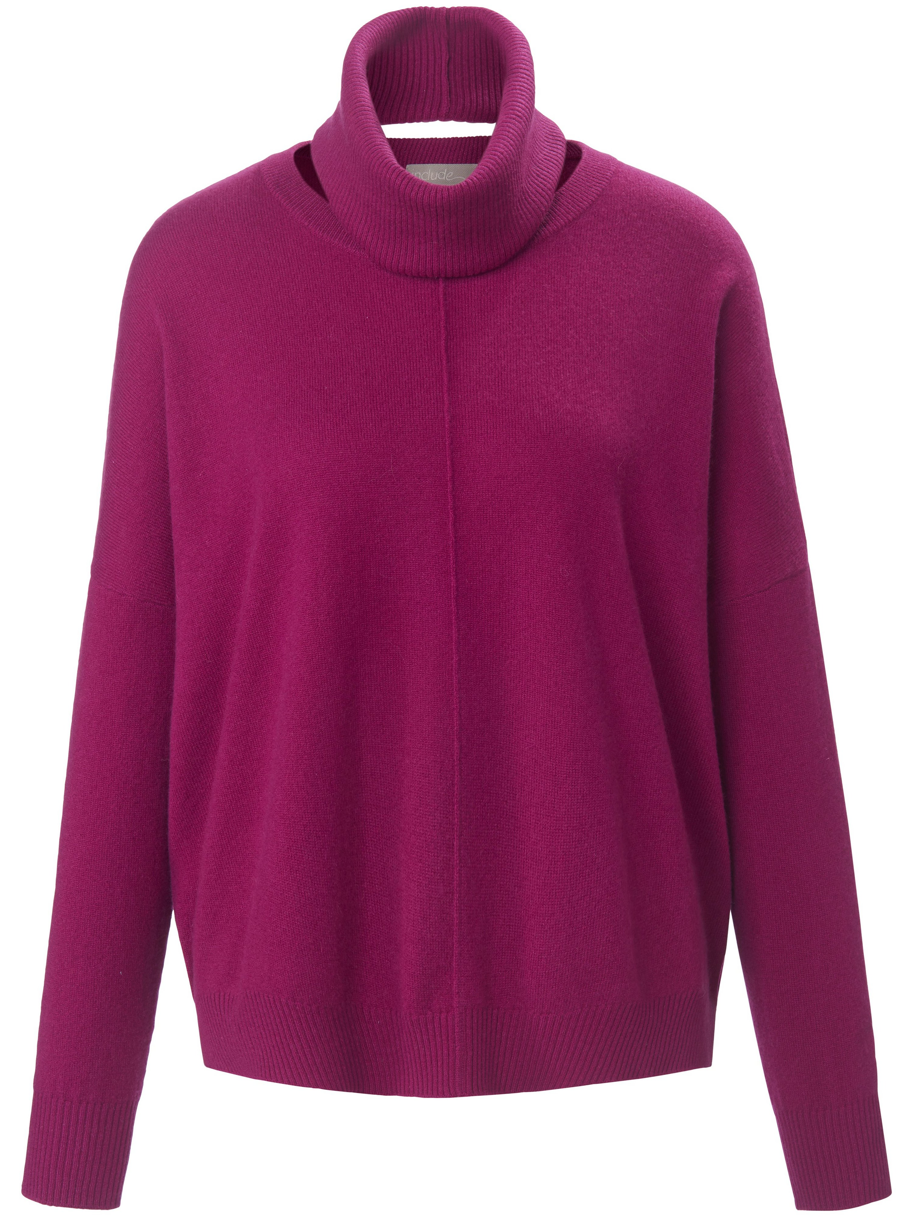 Le pull 100% cachemire  include mauve taille 50
