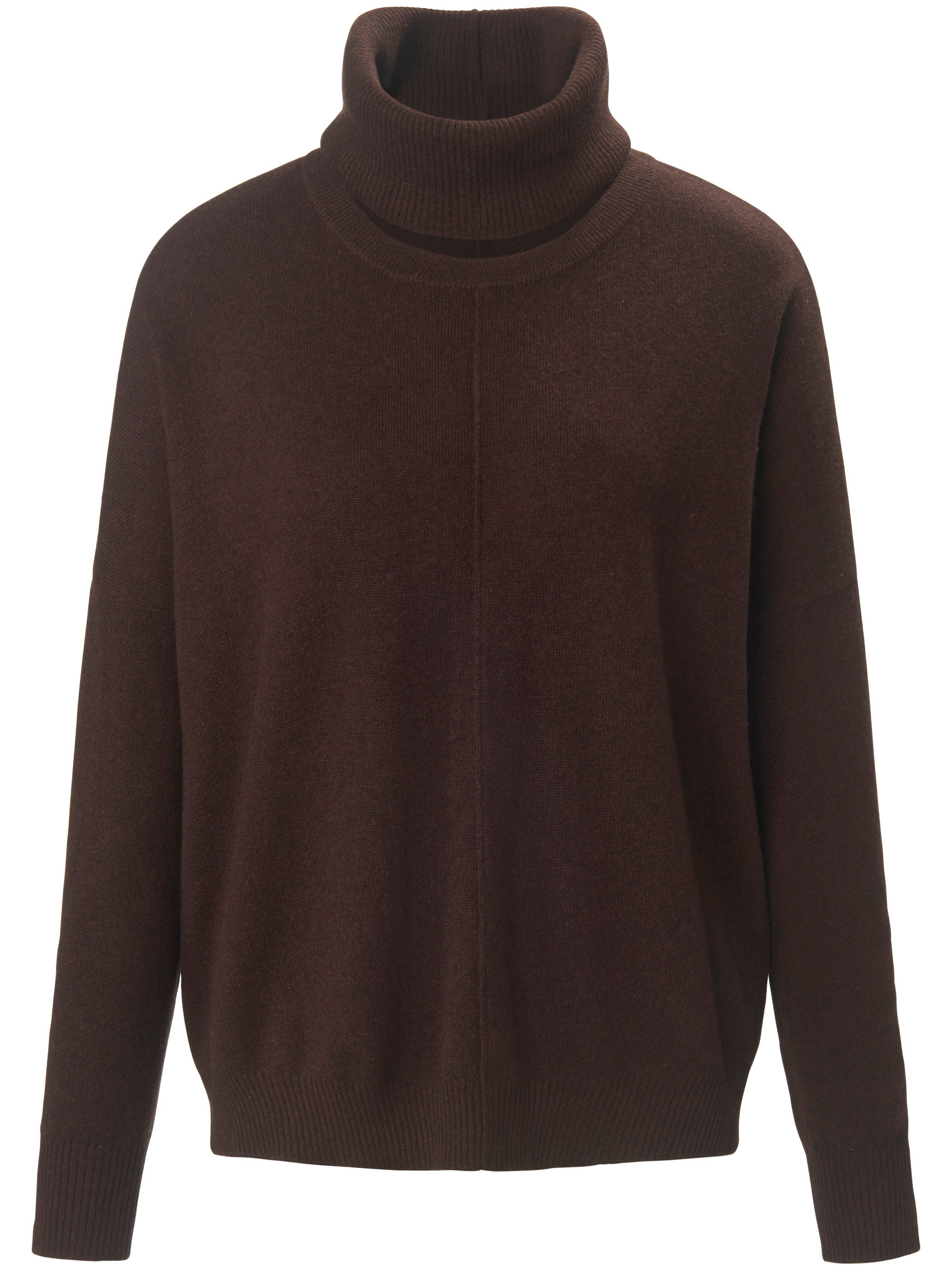 Le pull 100% cachemire  include marron taille 42