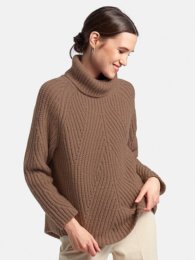 DAY.LIKE - Roll-neck jumper with textured pattern