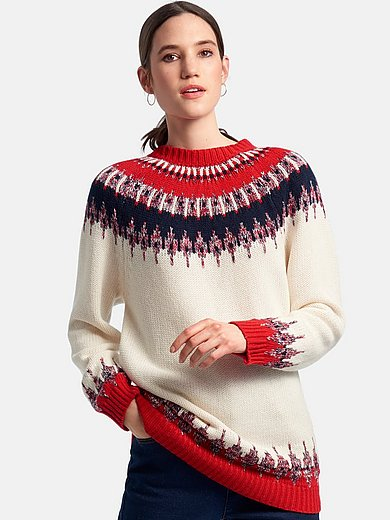 DAY.LIKE - Round neck jumper with long sleeves.