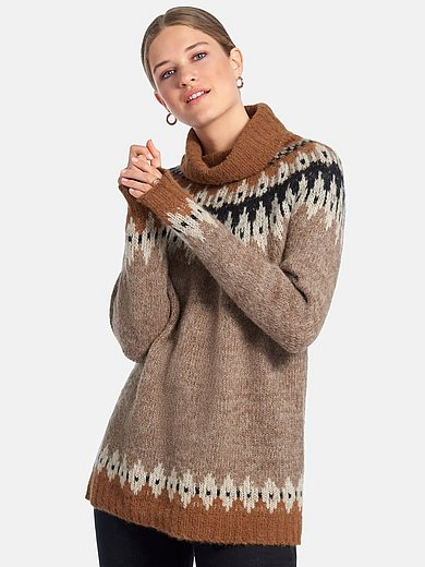 DAY.LIKE - Roll-neck jumper with long sleeves