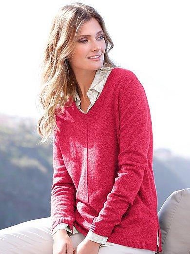 include - V-Pullover aus 100% Premium- Kaschmir