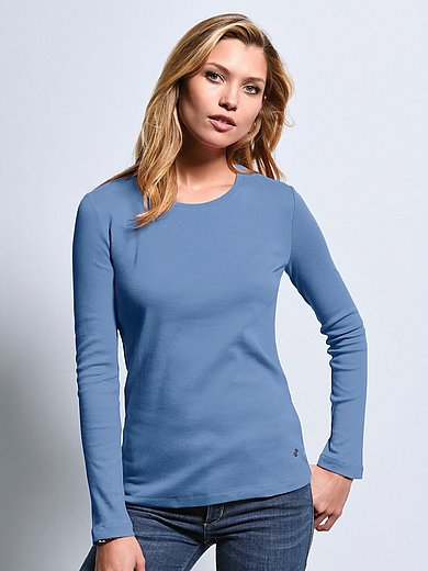 Bogner - Round neck top with long sleeves
