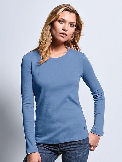 Bogner - T-shirt med rund hals i 100% bomuld