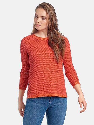 Looxent - Rundhals-Pullover aus 100% SUPIMA®-Baumwolle