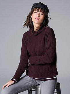 MAERZ Muenchen Damen Pullover mit überschnittener Schulter