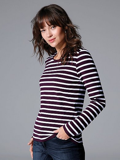 MAERZ Muenchen - Striped round neck top