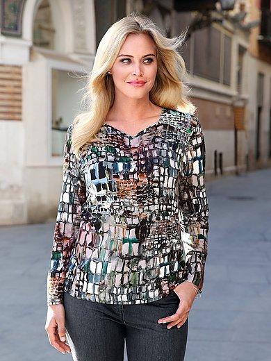 Anna Aura - Le T-shirt imprimé ample à manches longues