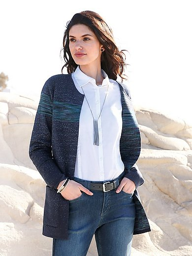 Peter Hahn - Reversible cardigan in an open style