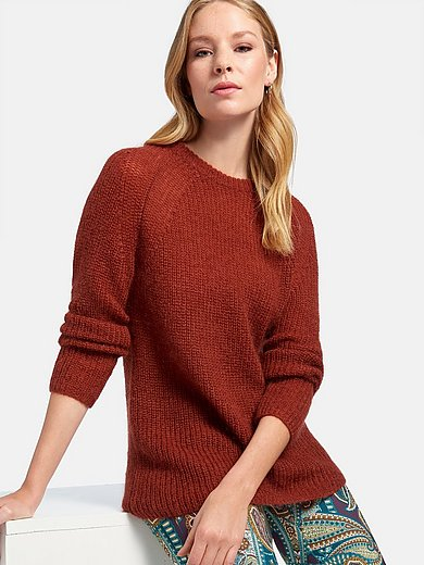 St. Emile - Round neck jumper with long raglan sleeves