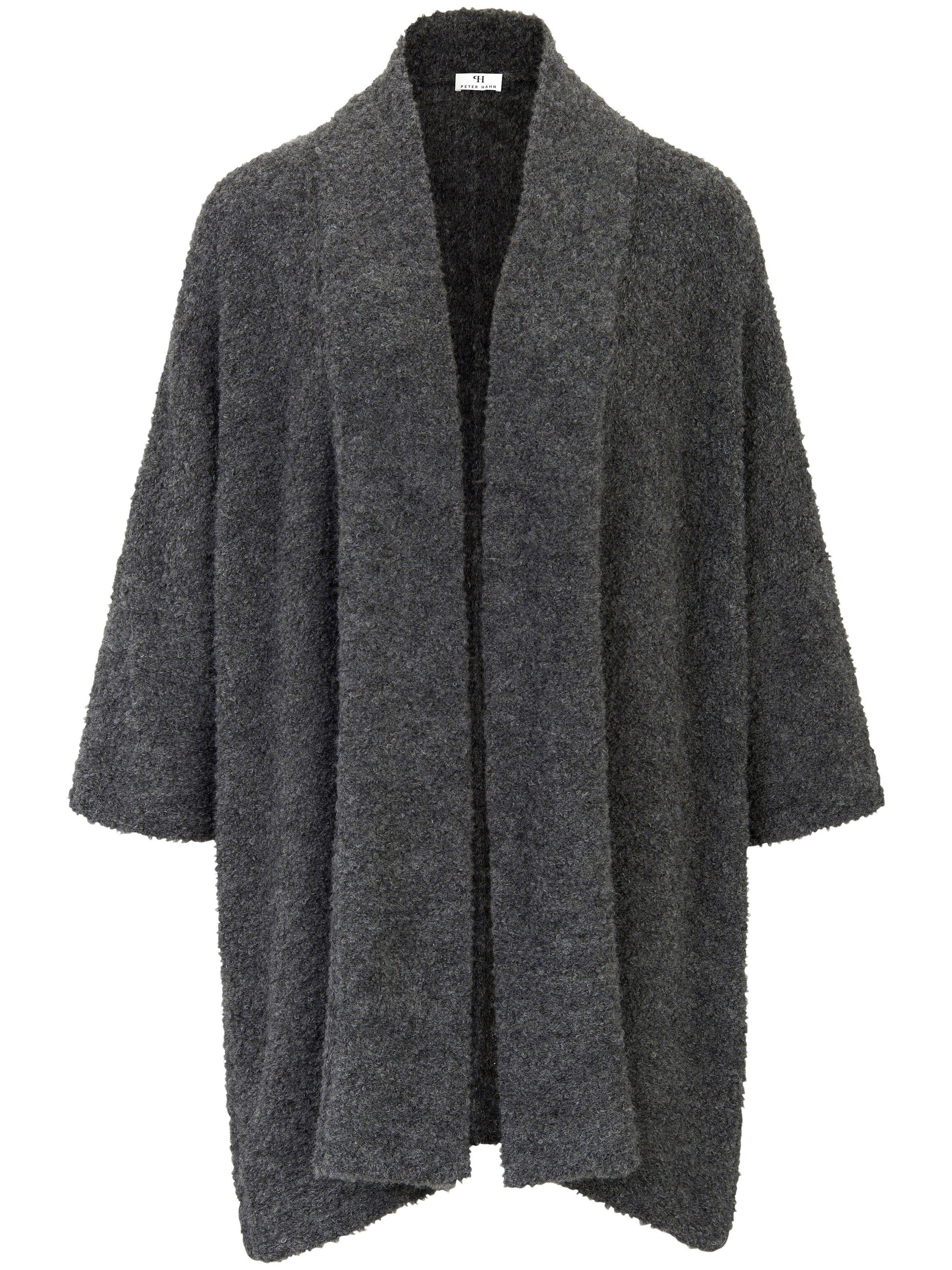 Cardigan in swing-coat style Peter Hahn grey