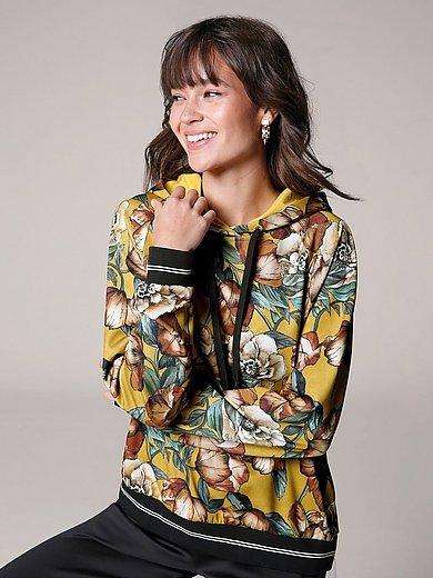 Margittes - Hoodie with floral print