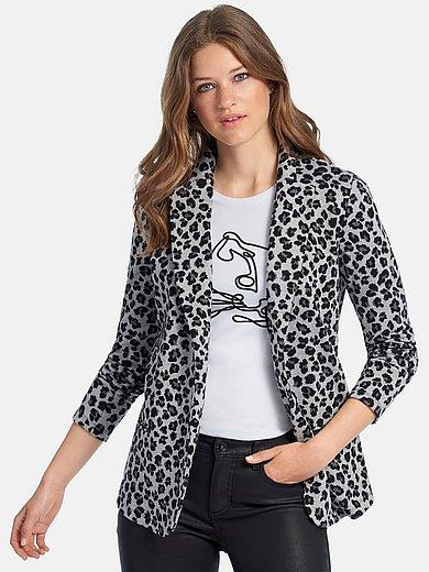 MYBC - Shirtjasje met lange mouwen en luipaardprint