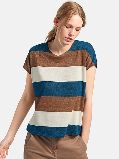MYBC - Rundhals-Shirt mit überschnittenem 1/2-Arm