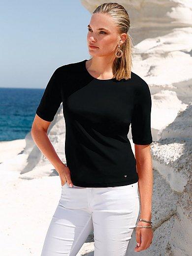 Efixelle - Rundhals-Shirt mit langem 1/2 Arm