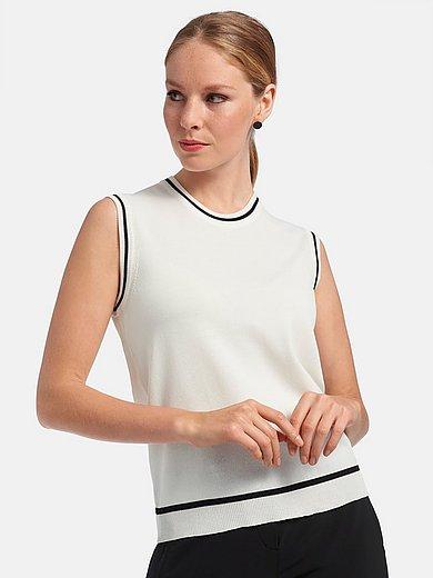 Riani - Stickat linne med kontrastränder