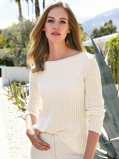 Richard Grand - Round neck jumper in 100% cashmere