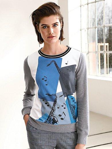 Looxent - Sweatshirt  with saxophone print