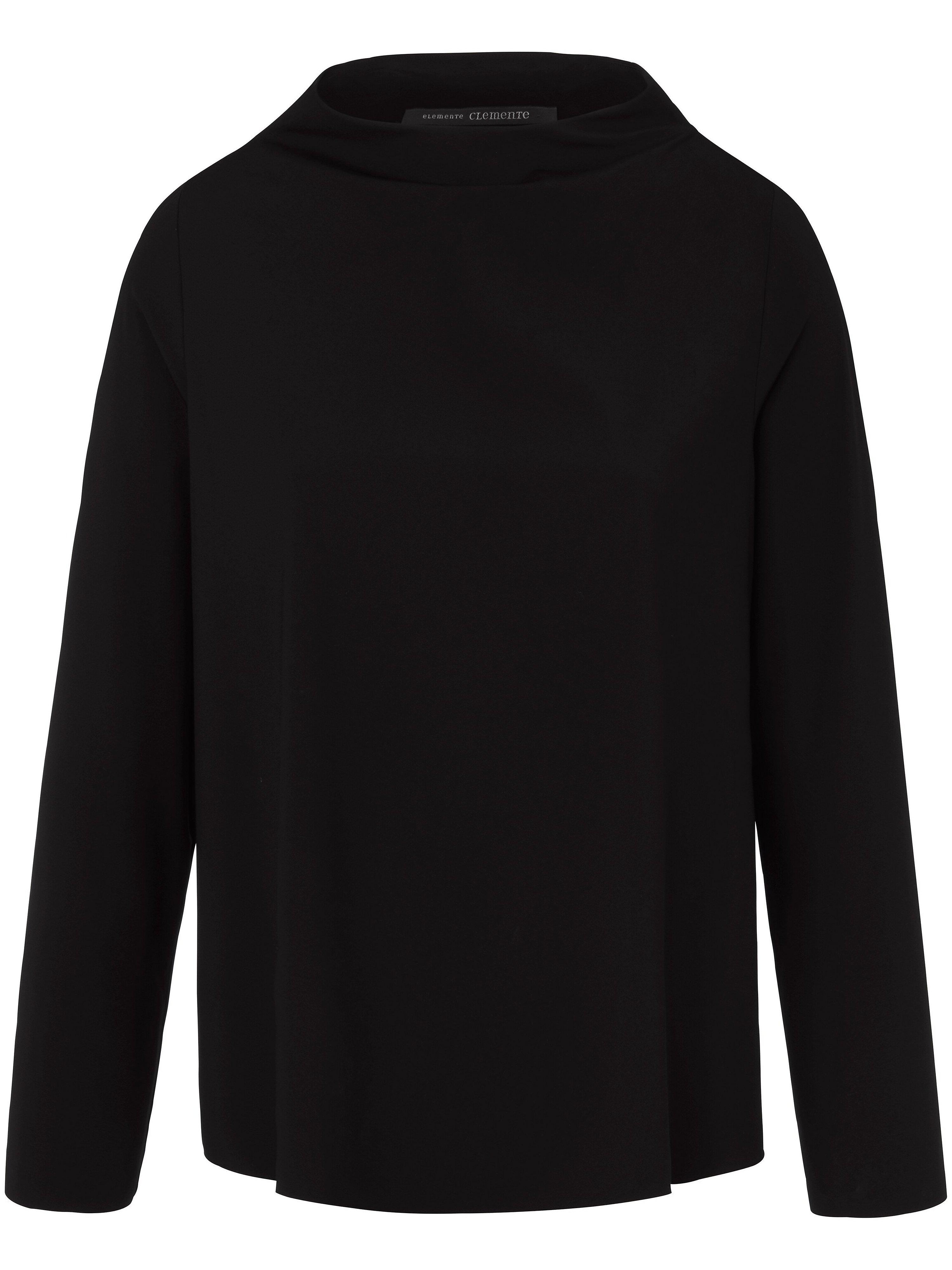 Le T-shirt  elemente clemente noir taille 38/40