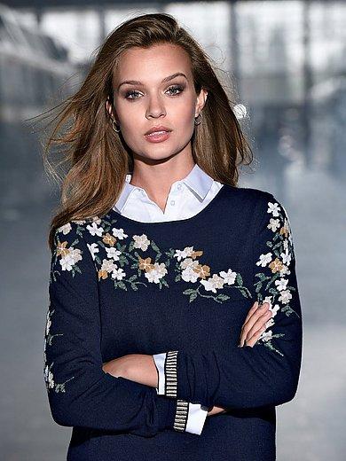 portray berlin - Le pull en laine vierge Biella Yarn