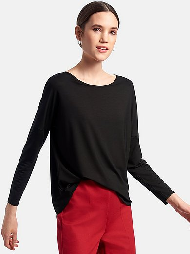 DAY.LIKE - Round neck top with wide neckline