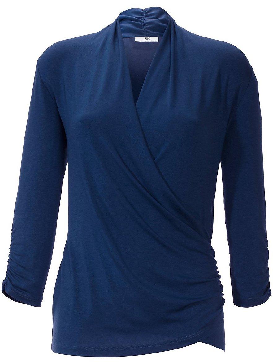 V-Shirt 3/4 Arm Peter Hahn blau Größe: 44 | Bekleidung > Shirts > V-Shirts | Peter Hahn