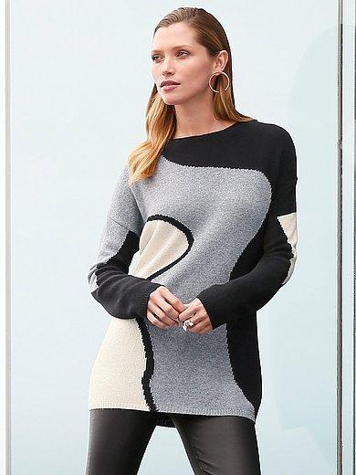 (THE MERCER) N.Y. - Round neck jumper in 100% cashmere