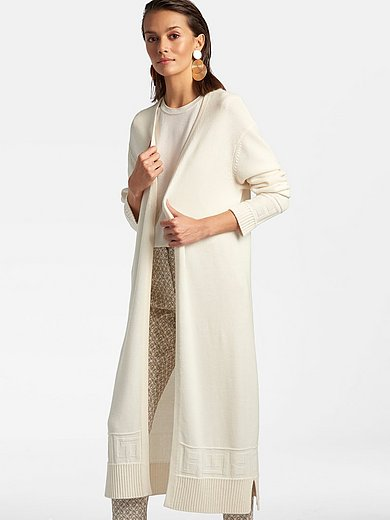 Laura Biagiotti Roma - Knitted coat in 100% cashmere