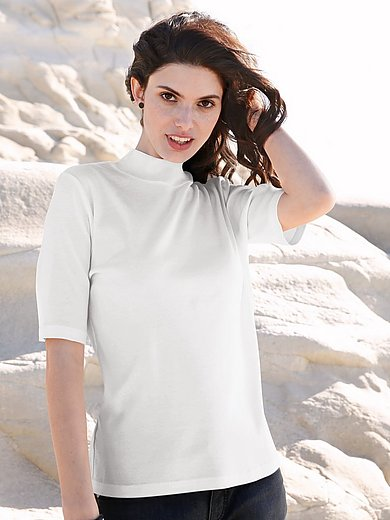 Efixelle - Top with a turtleneck collar