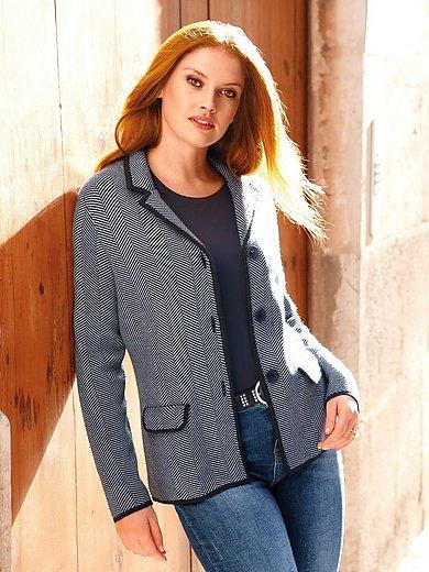 Anna Aura - Le blazer en maille 100% laine vierge Biella Yarn
