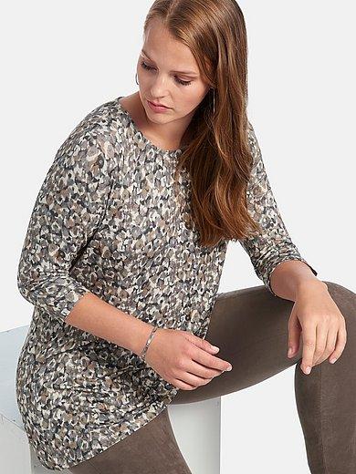 Anna Aura - Lang shirt met 3/4-mouwen