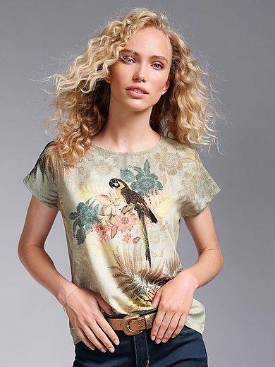 MYBC - Shirt met ronde hals en aangeknipte mouwtjes