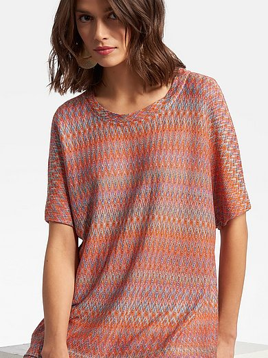 Laura Biagiotti Roma - Round neck top with drop shoulder