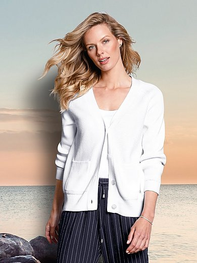 DAY.LIKE - Le gilet 100% coton manches longues raglan