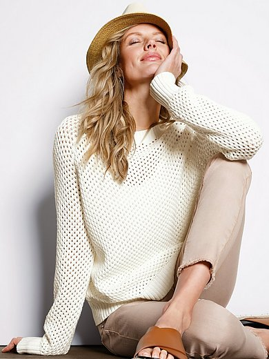 DAY.LIKE - Round neck jumper with long raglan sleeves