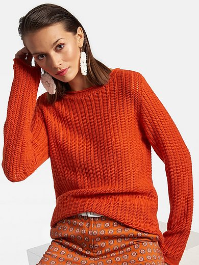Laura Biagiotti Roma - Jumper with boat neck in 100% cashmere