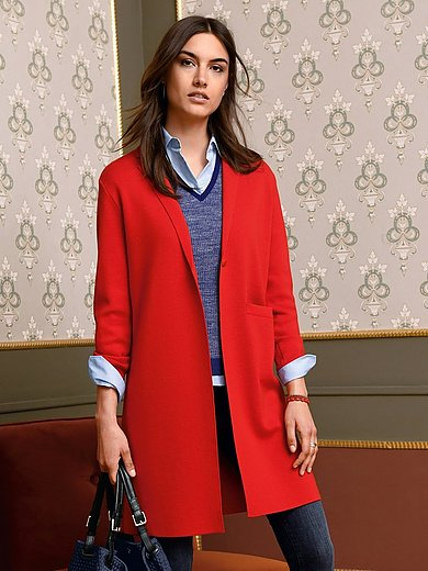 MAERZ Muenchen - Strikfrakke 100% ren ny uld