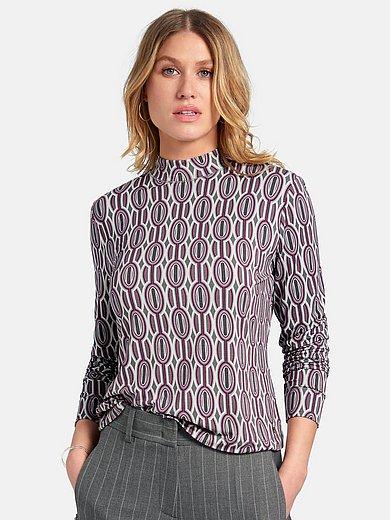 Basler - Shirt met staande kraag en lange mouwen