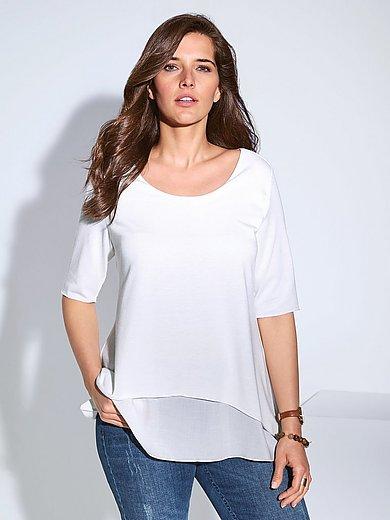 Samoon - Shirt in leicht ausgestellter A-Linie